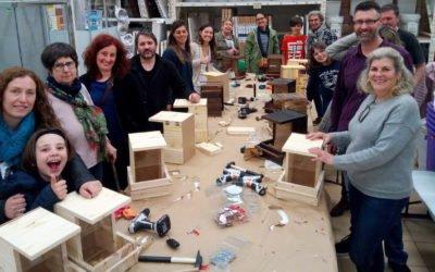 Nuevo taller de cocoDiseño en AKÍ. Construye tu comedero para pájaros